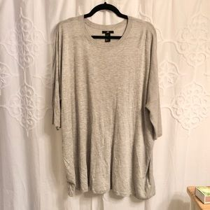 Relaxed oversize tunic